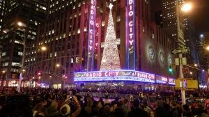 Road Block for the Rockefeller Christmas Tree Lighting