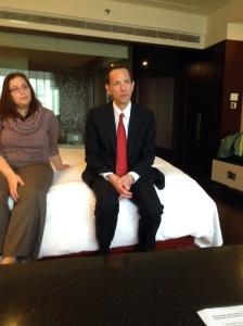 Jessica Dworkin & Dean Robert A. Schapiro